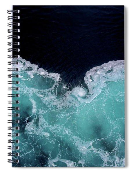 Fluid Snow Spiral Notebook