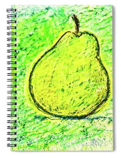 Fluorescent Pear Spiral Notebook