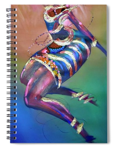 Fly To The Sky Spiral Notebook
