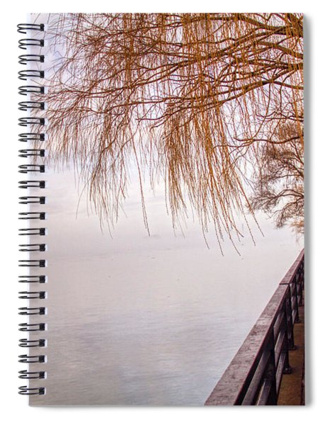 Foggy Niagara Spiral Notebook