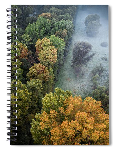Foggy Opening Spiral Notebook