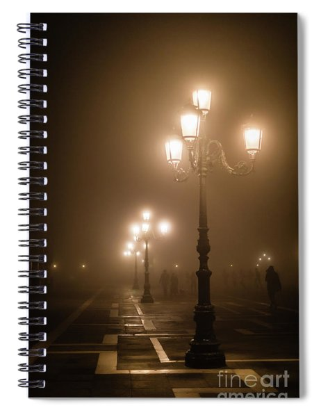 Foggy Piazza San Marco, Venice Spiral Notebook