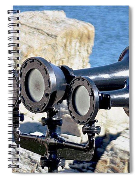 Foghorn Spiral Notebook