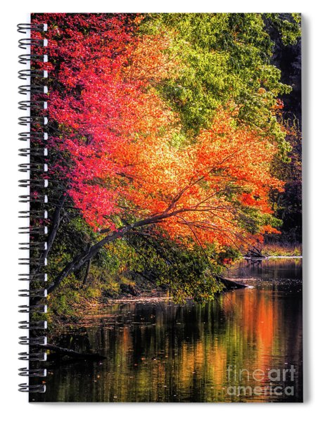 Foliage Over Forge Pond Spiral Notebook