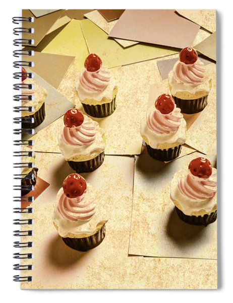 Foodie Nostalgia Spiral Notebook