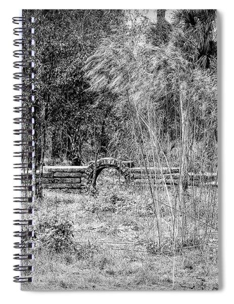 Footbridge To Nowhere Spiral Notebook