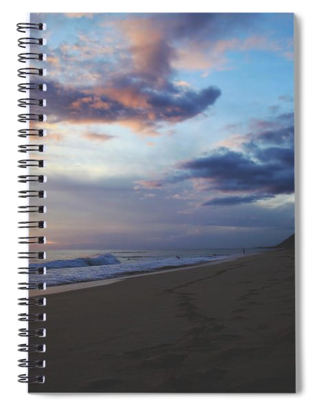 Footprints Spiral Notebook