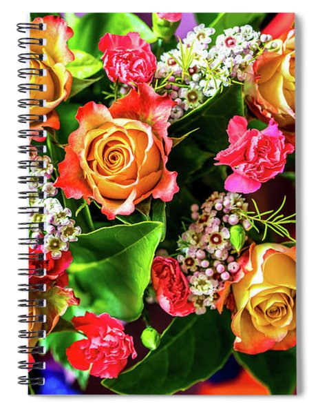 For Giving Love Spiral Notebook