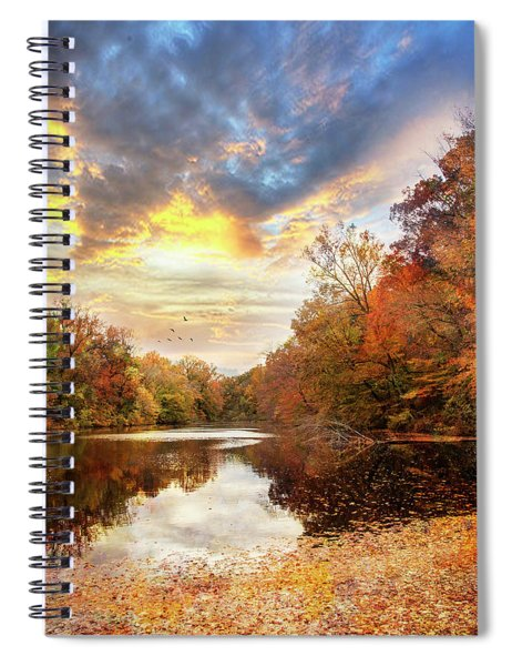 For The Love Of Autumn Spiral Notebook