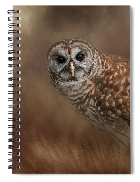 Foraging In The Field Spiral Notebook