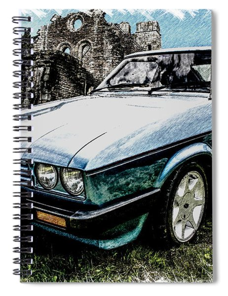 Ford Capri 3.8i Pencil V2 Spiral Notebook