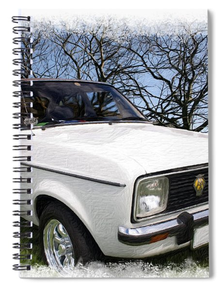 Ford Escort Spiral Notebook