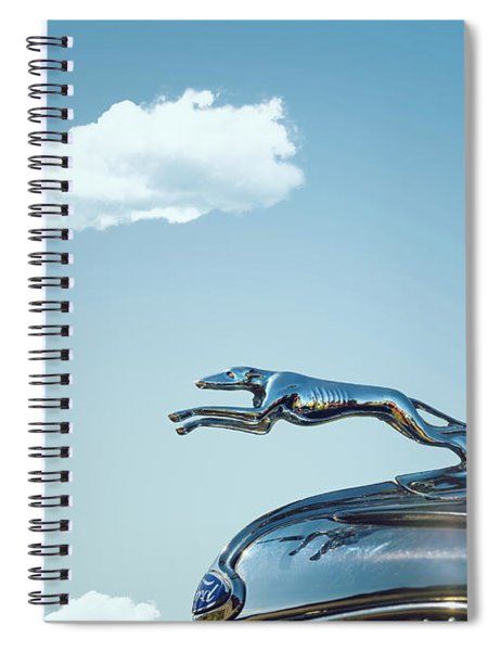 Ford Greyhound Spiral Notebook