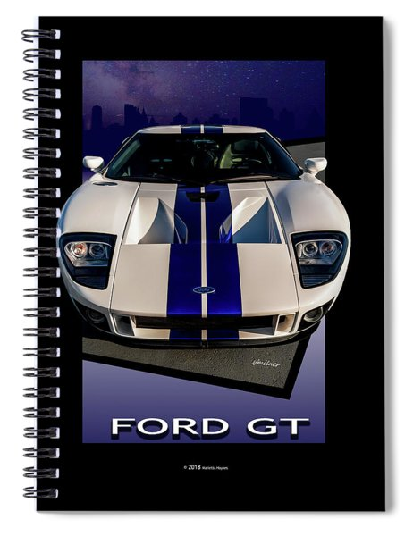 Ford Gt - City Escape Spiral Notebook