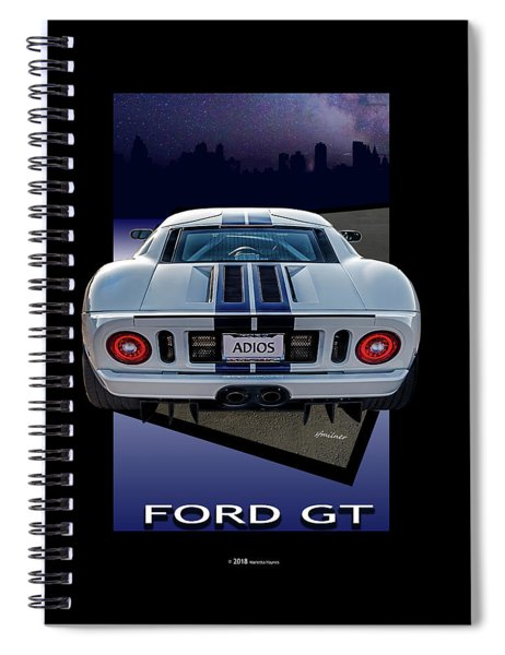Ford Gt - Into The City Spiral Notebook