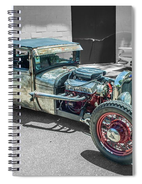 Ford Rat Rod Spiral Notebook