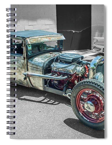 Ford Rat Rod Spiral Notebook