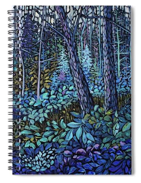 Forest In Colour Series 4 Spiral Notebook