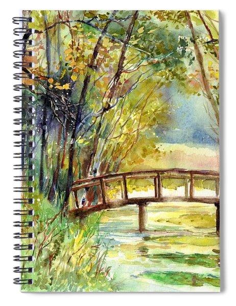 Forgotten Bridge Spiral Notebook
