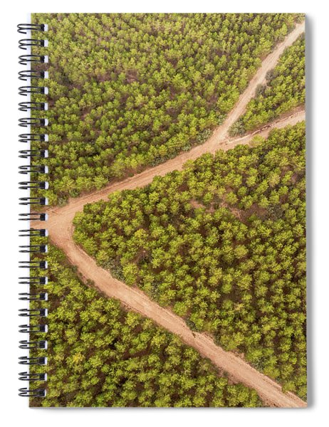 Fork Spiral Notebook
