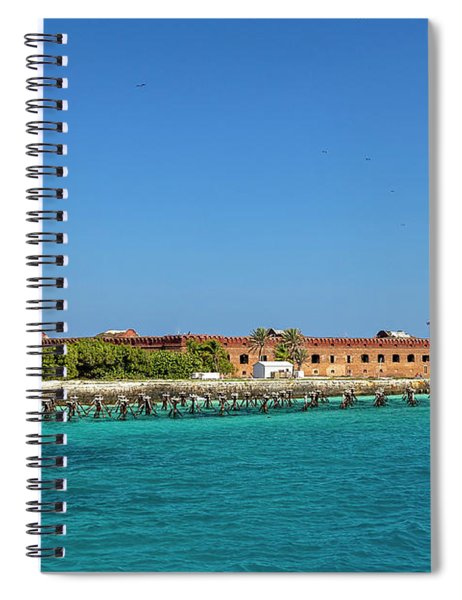 Fort Jefferson, Dry Tortugas National Park Spiral Notebook