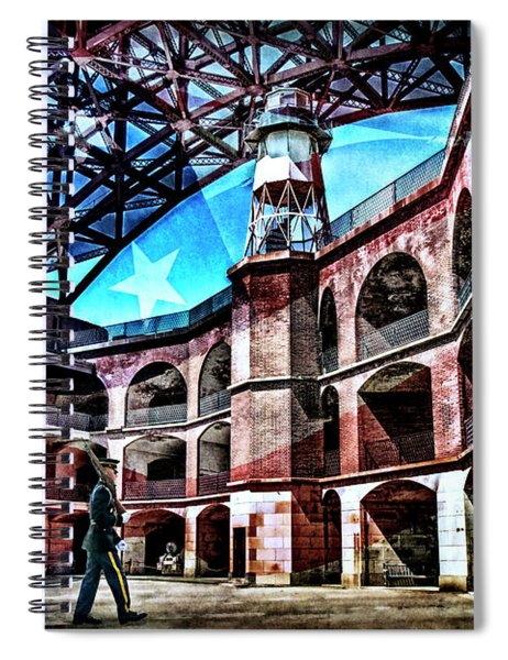 Fort Point Spiral Notebook