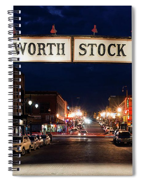 Fort Worth Stock Yards 112318 Spiral Notebook