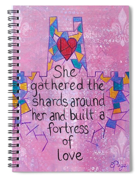 Fortress Of Love Spiral Notebook