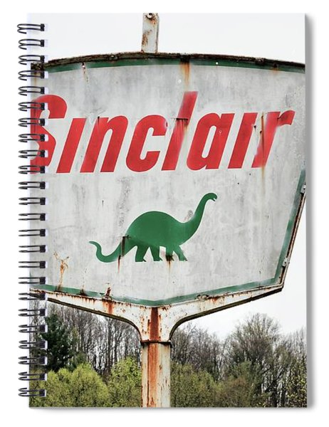 Fossil Fuel Spiral Notebook