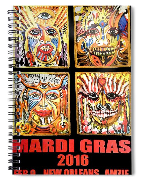 Four Happiness Spiral Notebook