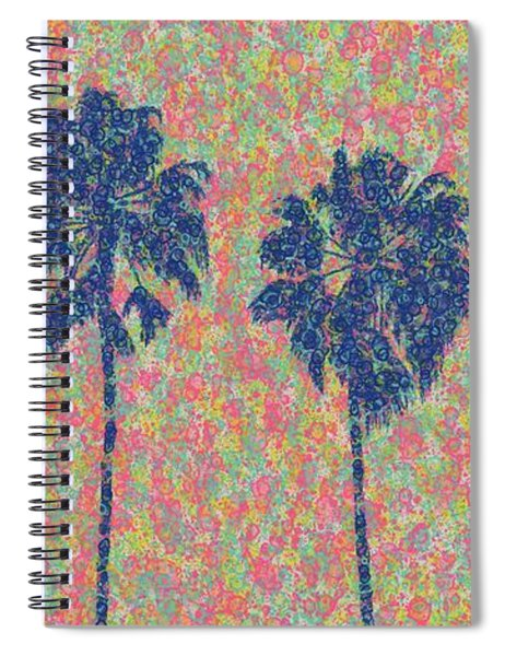 Four On Voltaire Spiral Notebook