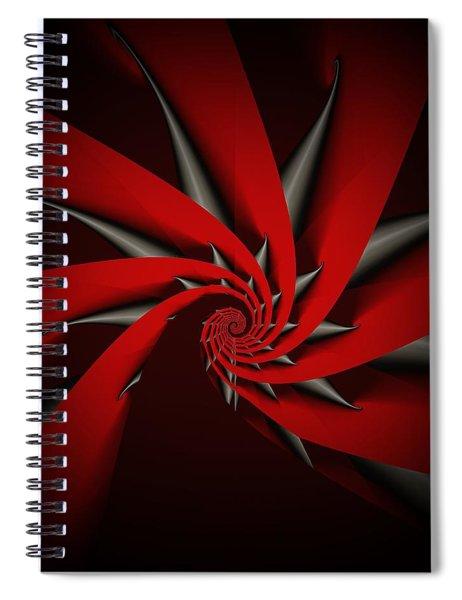 Fractal Meditation Spiral Notebook