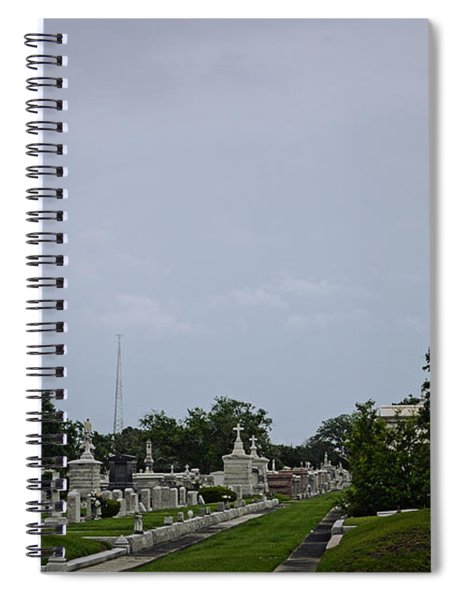 Framed In The Cemetery Spiral Notebook