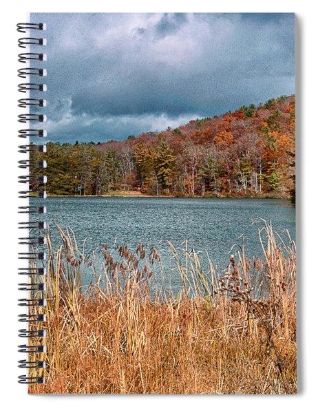 Framed Lake Spiral Notebook