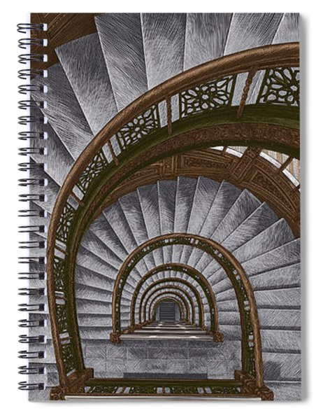 Frank Lloyd Wright - The Rookery Spiral Notebook