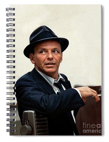 Frank Sinatra At Capitol Records, 1953 Spiral Notebook