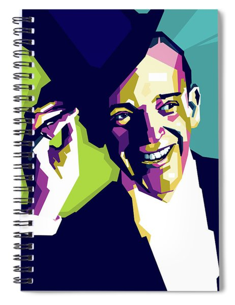 Fred Astaire Spiral Notebook