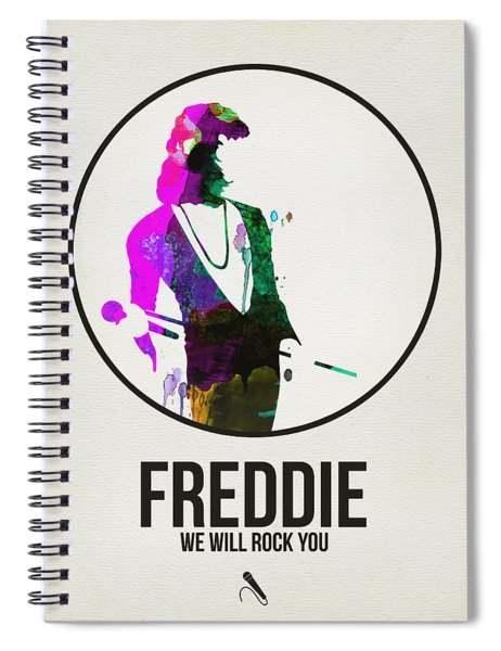 Freddie Mercury II Spiral Notebook