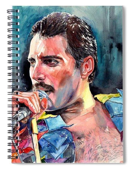 Freddie Mercury, New York City 1983 Spiral Notebook
