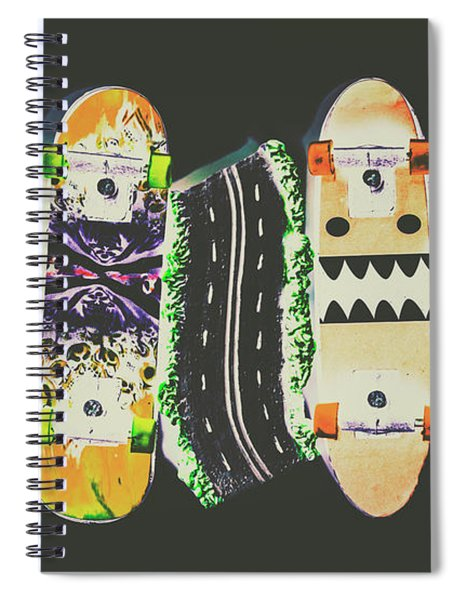 Freestyle Freeway Spiral Notebook