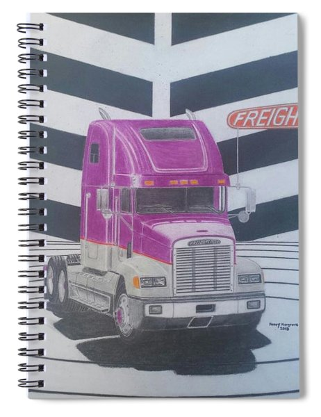 Freightliner Fld 120 Conventional Tractor Spiral Notebook