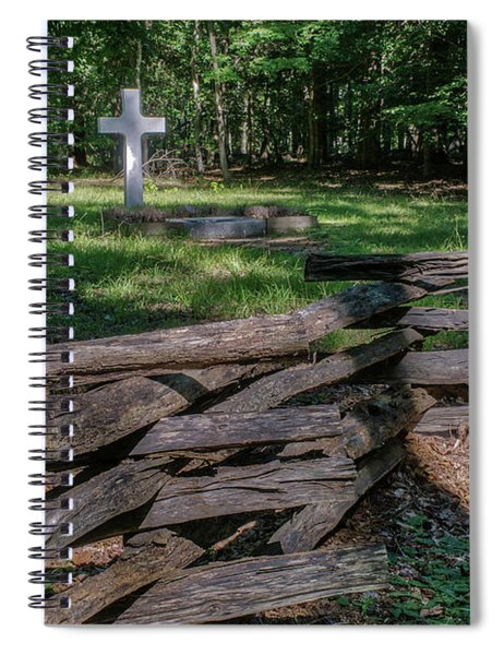French Cross Two Spiral Notebook