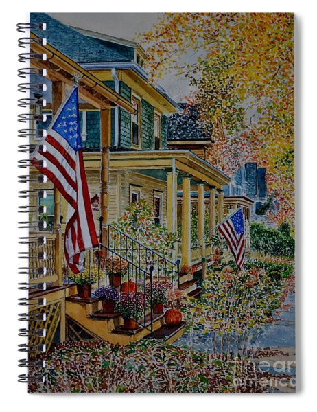 Frenchtown Street Spiral Notebook
