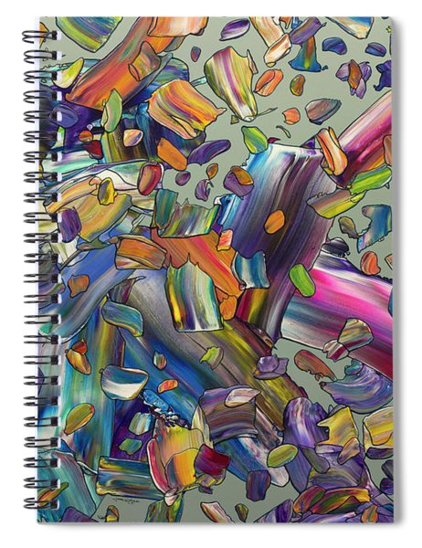 Frenzy Spiral Notebook by James W Johnson