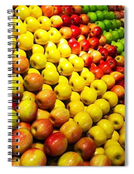 Fresh Apples Spiral Notebook