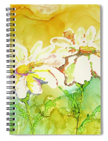 Fresh As Daisies Spiral Notebook