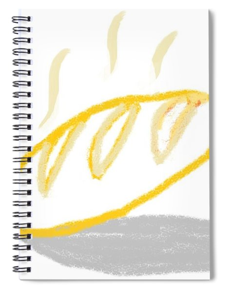 Fresh Bread Spiral Notebook