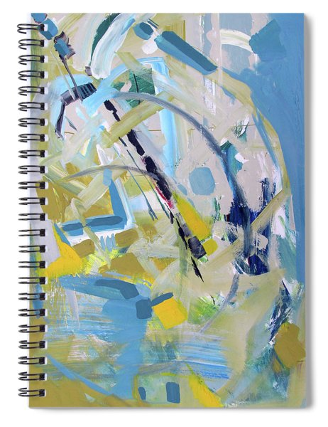 Fresh Gold Spiral Notebook