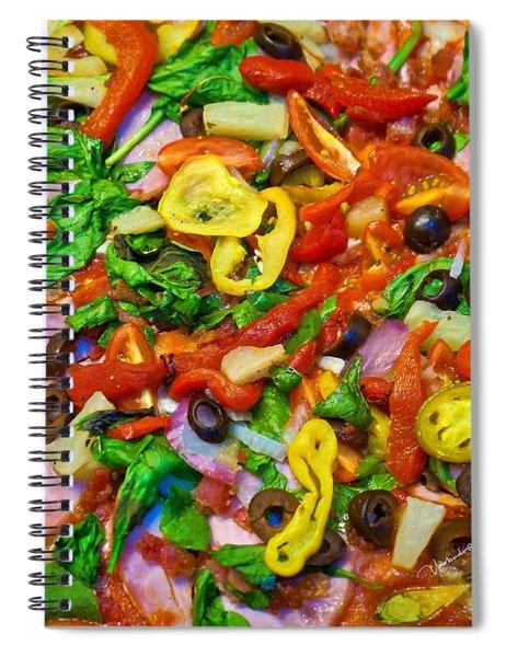 Fresh Pizza Spiral Notebook