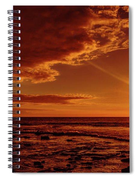 Friday Sunset Spiral Notebook